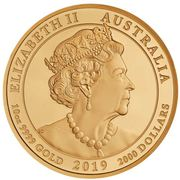 2000 Dollars - Elizabeth II (6th Portrait - The Jewelled Dragon) -  obverse
