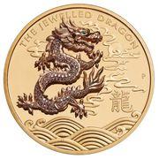 2000 Dollars - Elizabeth II (6th Portrait - The Jewelled Dragon) -  reverse