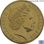 1 Dollar - Elizabeth II (4th Portrait - XXI Commonwealth Games) -  obverse