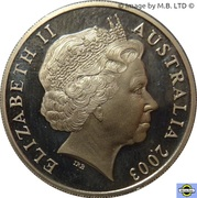 20 Cents - Elizabeth II (4th Portrait - Volunteers) -  obverse