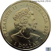 1 Dollar - Elizabeth II (6th portrait - Eureka!) -  obverse