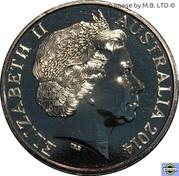 20 Cents - Elizabeth II (4th Portrait - Australian Comforts Fund) -  obverse
