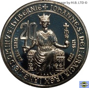 20 Cents - Elizabeth II (4th Portrait - Magna Carta) – reverse