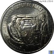 20 Cents - Elizabeth II (4th Portrait - Australian Imperial Force) – reverse