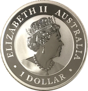 1 Dollar - Elizabeth II (6th Portrait - Koala - Bullion Coin) -  obverse