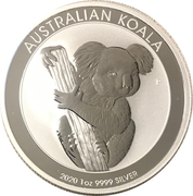 1 Dollar - Elizabeth II (6th Portrait - Koala - Bullion Coin) -  reverse