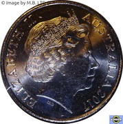 20 Cents - Elizabeth II (4th Portrait - Victory Medal) -  obverse