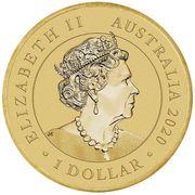 1 Dollar - Elizabeth II (6th Portrait - Year of the Mouse) -  obverse