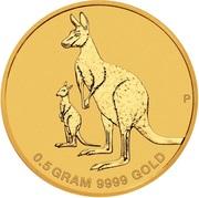 2 Dollars - Elizabeth II (6th Portrait - Mini Roo) -  reverse