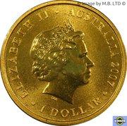 1 Dollar - Elizabeth II (4th Portrait - 50th Anniversary ASAS) -  obverse