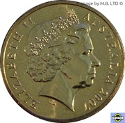1 Dollar - Elizabeth II (4th Portrait - APEC Australia) -  obverse