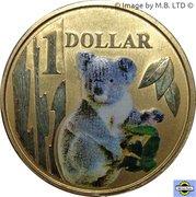 1 Dollar - Elizabeth II (4th Portrait - Koala) -  reverse