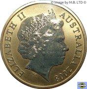 1 Dollar - Elizabeth II (4th Portrait - Wombat) -  obverse