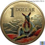1 Dollar - Elizabeth II (4th Portrait - Wallaby) -  reverse