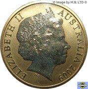 1 Dollar - Elizabeth II (4th portrait - Frilled-Neck Lizard) -  obverse
