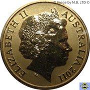 1 Dollar - Elizabeth II (4th Portrait - Crimson Rosella) -  obverse