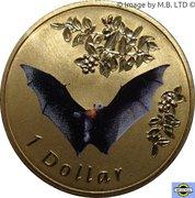 1 Dollar - Elizabeth II (4th Portrait - Flying Fox) -  reverse