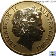 1 Dollar - Elizabeth II (4th Portrait - Cairns Birdwing) -  obverse