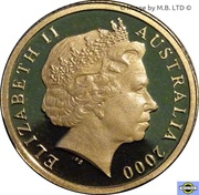 2 Dollars - Elizabeth II (4th Portrait) -  obverse