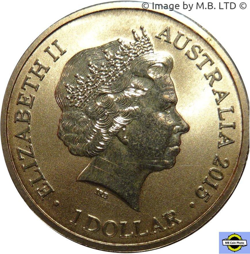 UNIRCULATED 2015 KING GEORGE SLAYS THE DRAGON QUEEN ELIZABETH II MEDAL 1