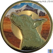 1 Dollar - Elizabeth II (4th Portrait - Unlikely Heroes - Horrie the Dog) -  reverse
