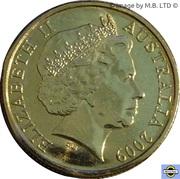1 Dollar - Elizabeth II (4th portrait - Inspirational Australians - Steve Irwin) -  obverse