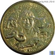 1 Dollar - Elizabeth II (4th portrait - Inspirational Australians - Steve Irwin) -  reverse