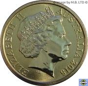 1 Dollar - Elizabeth II (4th Portrait - ANZAC Centenary) -  obverse