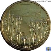 1 Dollar - Elizabeth II (4th Portrait - ANZAC Centenary) -  reverse