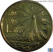 1 Dollar - Elizabeth II (4th Portrait - Australian Lighthouse Aid to Navigation) -  reverse