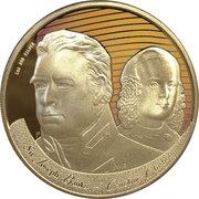 1 Dollar - Elizabeth II (4th Portrait - Figures of Note - Banks & Chisholm) -  reverse