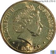 1 Dollar - Elizabeth II (4th Portrait - Year of the Tiger) -  obverse