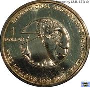 1 Dollar - Elizabeth II (4th Portrait - Inspirational Australians - Fred Hollows) – reverse