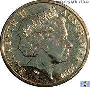 1 Dollar - Elizabeth II (4th Portrait - 150th anniversary of the Burke & Wills Expedition) -  obverse