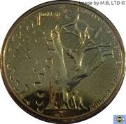 1 Dollar - Elizabeth II (4th Portrait - 150th anniversary of the Burke & Wills Expedition) -  reverse
