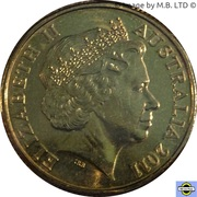 1 Dollar - Elizabeth II (4th Portrait - 100 Years of Census) -  obverse