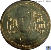 1 Dollar - Elizabeth II (4th Portrait - Inspirational Australians - Sir Douglas Mawson) -  obverse