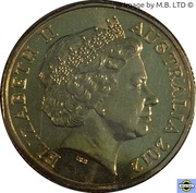 1 Dollar - Elizabeth II (4th Portrait - Year of the Farmer) -  obverse