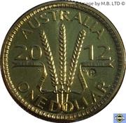 1 Dollar - Elizabeth II (4th Portrait - Wheat Sheaf Dollar) -  reverse