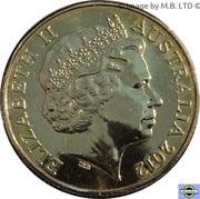 1 Dollar - Elizabeth II (4th Portrait - Australian Wheat Fields of Gold) -  obverse