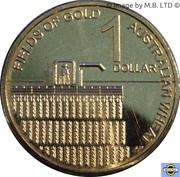 1 Dollar - Elizabeth II (4th Portrait - Australian Wheat Fields of Gold) – reverse