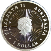 1 Dollar - Elizabeth II (4th Portrait - Year of the Rooster) -  obverse