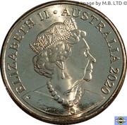 1 Dollar - Elizabeth II (6th Portrait - QANTAS Centenary) -  obverse