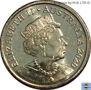2 Dollars - Elizabeth II (6th Portrait - Womens T20 Cricket World Cup) -  obverse
