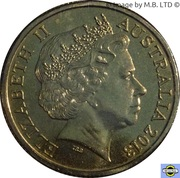 1 Dollar - Elizabeth II (4th Portrait - The Benevolent Society) -  obverse