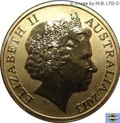 1 Dollar - Elizabeth II (4th Portrait - Polar Series - Rock Hopper Penguin) -  obverse