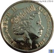 1 Dollar  - Elizabeth II (4th Portrait - A Voyage to Terra Australis) -  obverse