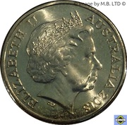 1 Dollar - Elizabeth II (4th Portrait - Sir John Monash) -  obverse