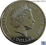 1 Dollar - Elizabeth II (4th Portrait - Lunar Year of the Dog) -  obverse