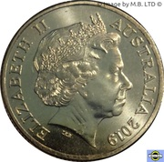 1 Dollar - Elizabeth II (4th Portrait - Year of the Pig) – obverse